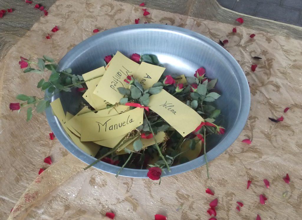 Ein Rose für jeden Drogentoten