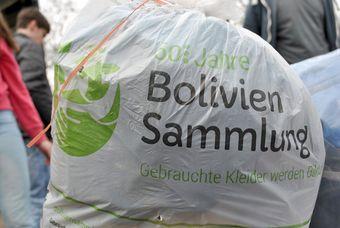 Bolivien Kleidersack