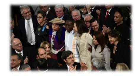 Verleihung des Friedensnobelpreises 2016