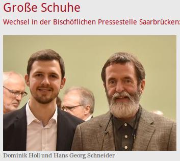 Dominik Holl und Hans Georg Schneider