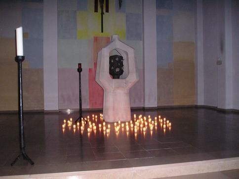 Lichter für die Opfer