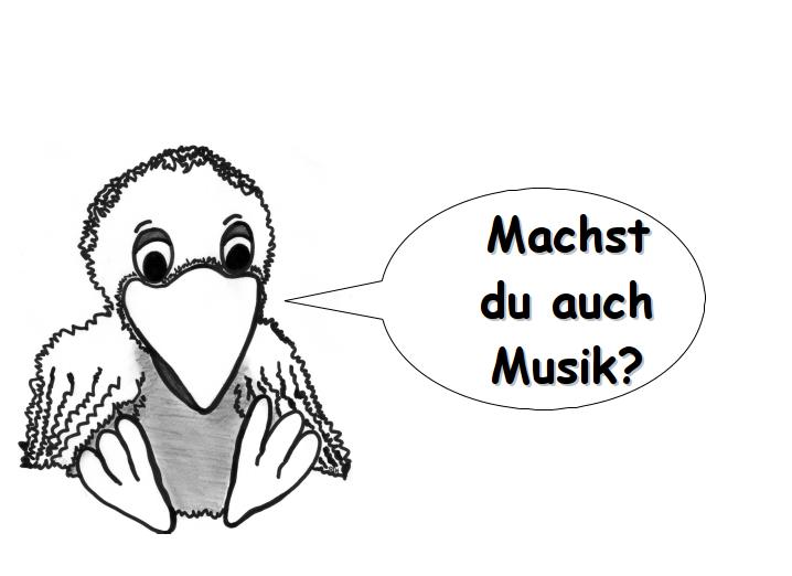 Rabe Jakob - Machst du auch Musik?
