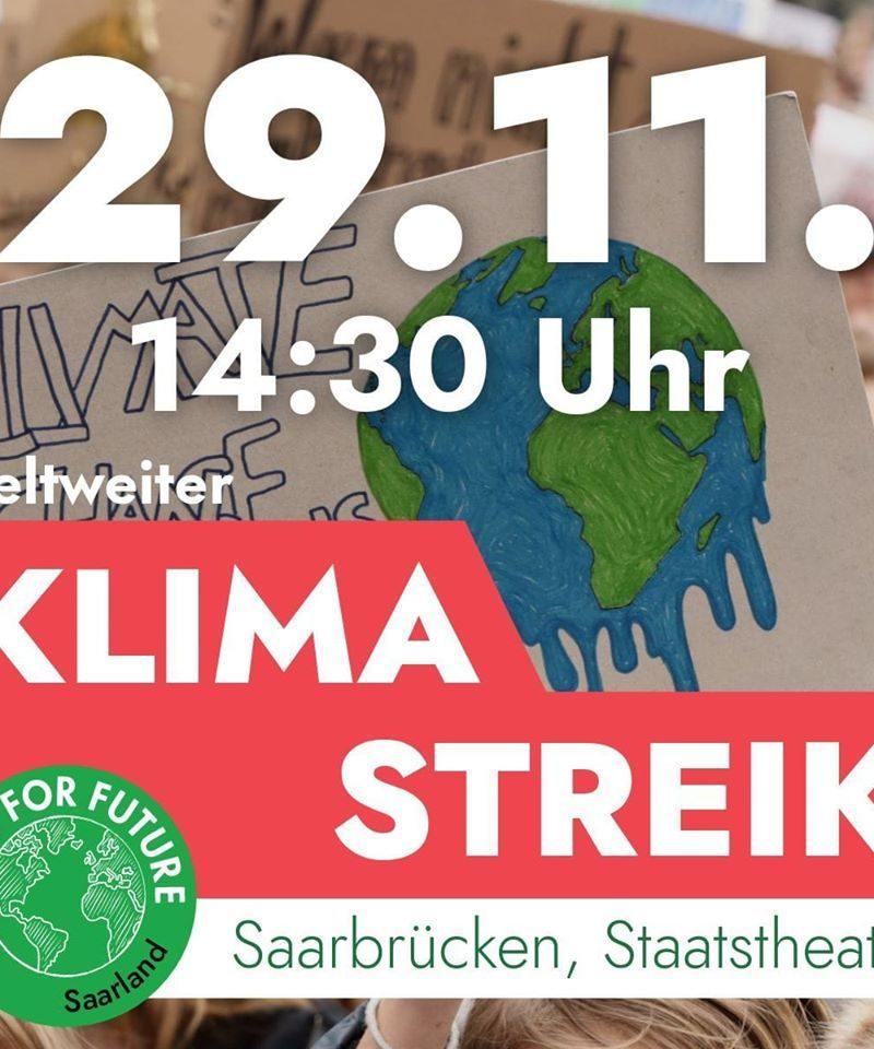 Klimastreik am 29.11.