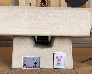 Osterbilder in der Güdinger Kirche