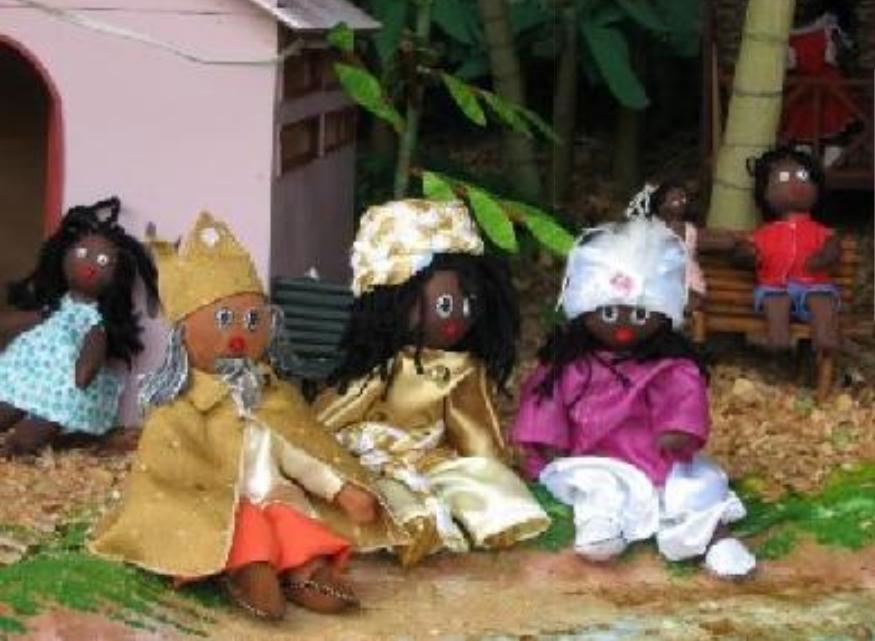 Sternsingerpuppen aus dem Chocó
