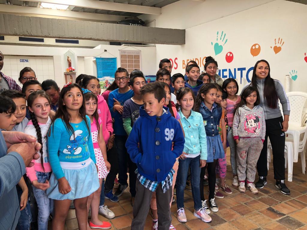 Kinder in Kolumbien
