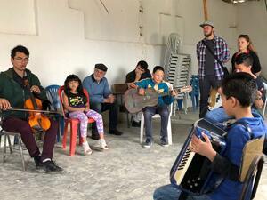 Musizieren in der Kindertagesstätte